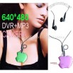 NEW Apple Pendent MP3 + Mini DV + Hidden Camera Recorder