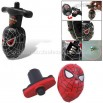 Funny Electronic Colorful Flashing Light Black Spider Spinning Peg-Top Toy
