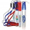 Sport Pocket Sprayer Hand Sanitizer-Anti-Bacterial with lanyard