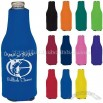 Collapsible Zip-Up Bottle Koozie Kooler