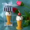 ice cream shape candle
