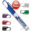 Carabiner Clip Cap Pen Spray Hand Sanitizers