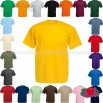 Fruit of the Loom Value T Shirt Colours