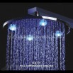 LED Brass Shower Head