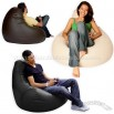 Gaming Bean Bag Recliner Faux Leather