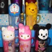 Hello Kitty Travel Cartoon Bathroon Kit Set -Toothbrush / Towel / Cup