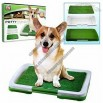 NEW Trademark Puppy Potty Trainer Indoor Grass Training Patch Three Layers System Perfect For Patios
