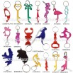 Animal and Novelty Shaped Bottle Opener Keychain / Keyring