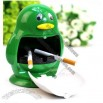Green Penguin Ashtray