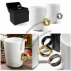 2 Carat Diamond Ring Ceramic Coffee Cup Gift For Valentine's Day