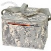 6 Pack Digital Camo Cooler w/ Bottle Holder & Phone Pouch