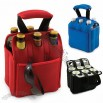 Insulated 6 Pack Bottle Holder Cooler