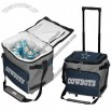 Dallas Cowboys Gray Rolling Collapsible Cooler