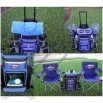 Rolling Cooler with Folding Chairs