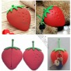 Newest Designs Fashion Strawberry Silicone Wallet for Coin and Key