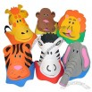 Foam Zoo Animal Themed Visor Assortment