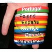 National Flag Silicone Bracelet