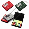 Calculator With 8 Color Adhesive Sticker
