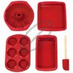 Silicone Solutions 5-Piece Basic Baking Set