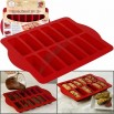 Steel Reinforced Silicone Dessert Bar Pan
