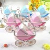 Baby Stroller Wedding Candy Boxes Paper Boxes Cake Shape Gift Wrap
