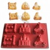 Castle shaped Silicone Bakeware
