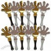 Black, Gold and Silver Hand Clappers