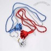 Patriotic Hand Clapper Necklaces
