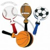 Sportball Shape Hand Clappers