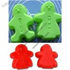 Lovers Snowman Silicone Baking Cake Mould Egg Tart Mold