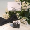 Clapboard Style Place Card Holder