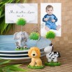 Jungle Critters Collection Place Card / Photo Holders