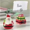 Santa and Gift Box Place Card Holder