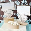 Seashell Favor Box Place Card Holders