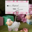 A Thank You Favor - Blue Baby Sheep Placecard Holders