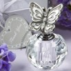 Choice Crystal Collection butterfly themed perfume bottle favors