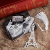 From Paris With Love Collection Eiffel Tower Bookmark Favors