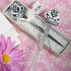 Royal Wedding Collection crown and Fleur De Lis design letter openers