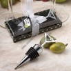 Marvelous Martini Design wine bottle stopper