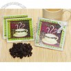 Cassiani Cappuccino Coaster Favors