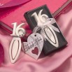 Sweet 16 bookmark in gift box
