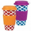 Eco Cup Graphic Edition Ikat Red & Orange