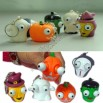 Halloween Gift Squeezable Eyes Pop Out Toy Keychain
