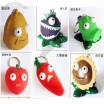 Plants vs.Zombies Series Eyes Pop Out Squeeze Keychains