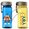Plastic Sports Bottle with Carabiner