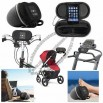 iPod, MP3 Player Amplified Stereo Speaker for Bike, Stroller & Beach