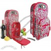Paisley Symphony Wine Tote Bag