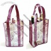 Wine Carrier for 2 Bottles Made of 80gsm Non Woven PP