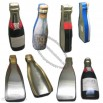 Bottle Shape Wine Tin Box