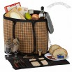Tan Picnic Tote for Two